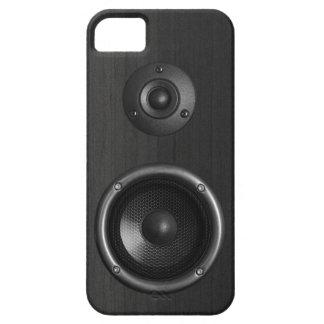 Cas drôle de la musique iPhone5 de haut-parleur sa Coque iPhone 5