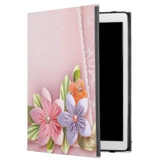Cas dur de couverture d'iPad de maman de roses