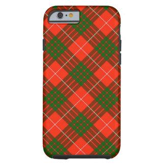 Cas dur de l'iPhone 6/6S de tartan de Crawford Coque Tough iPhone 6