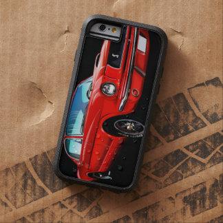 Cas dur de l'iPhone 6 de Xtreme de mustang rouge Coque Tough Xtreme iPhone 6