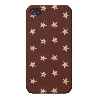 Cas dur de Speck® Fitted™ Shell d étoiles pour l i Étui iPhone 4