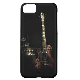 Cas dur d'iPhone de guitare et d'ampère Coque iPhone 5C