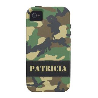 Cas dur militaire personnalisable de l'iPhone 4 de Étui Vibe iPhone 4