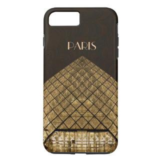 Cas dur plus de l'iPhone 7 de pyramide de Louvre Coque iPhone 7 Plus