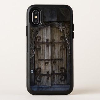 Cas éffrayant gothique de l'iPhone X d'OtterBox de