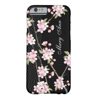 Cas élégant de l'iPhone 6 de fleurs de cerisier Coque iPhone 6 Barely There