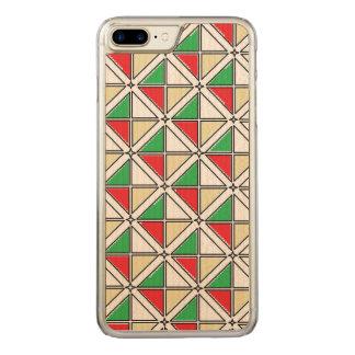 Cas en bois d'érable mince plus de l'iPhone 7 Coque En Bois iPhone 7 Plus