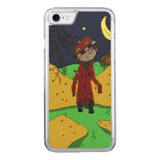 cas en bois mince childish_king de l'iPhone 7 Coque Iphone 7 En Bois