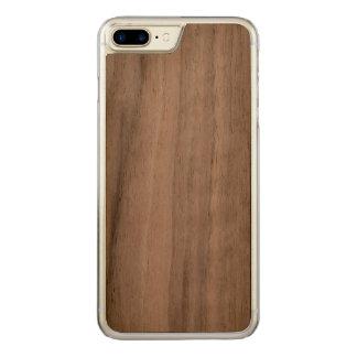 cas en bois plus de l'iPhone 7 Coque Carved iPhone 8 Plus/7 Plus