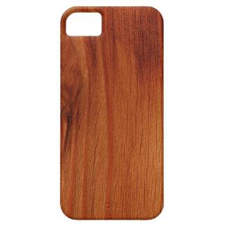 Cas en bois poli de l'iPhone 5/5S de motif Coques iPhone 5 Case-Mate