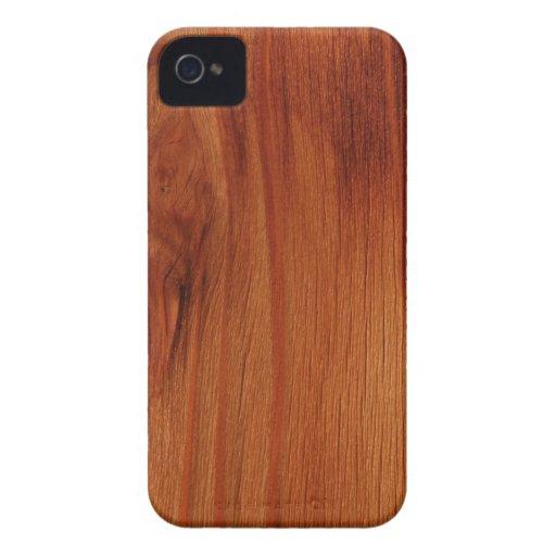 Cas en bois poli d 39 iphone 4 4s de motif zazzle for Case en bois