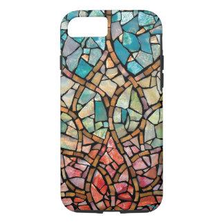 """Cas en hausse de l'iPhone 7 de """"Lotus de mosaïque Coque iPhone 7"""