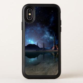 Cas étranger de l'iPhone X d'OtterBox du monde