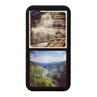 Cas fait sur commande de l'iPhone 4 de photo iPhone 4 Case