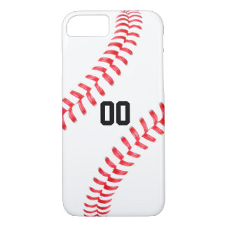 Cas fait sur commande de l'iPhone 7 de base-ball Coque iPhone 7