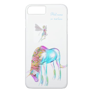 Cas féerique de l'iphone 7 de licorne coque iPhone 7 plus