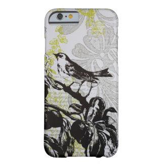 Cas floral de l'iPhone 6 de mode vintage élégante Coque iPhone 6 Barely There