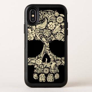 Cas floral de l'iPhone X de symétrie d'OtterBox de
