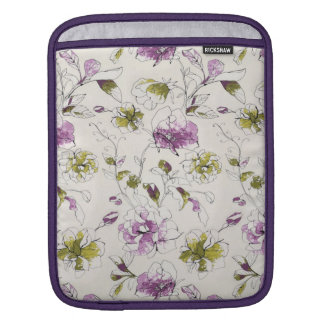 Cas floral poches iPad