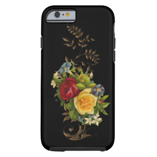 Cas floral vintage de l'iPhone 6