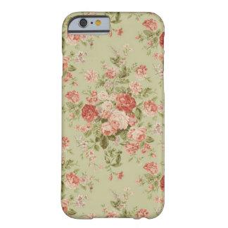 Cas floral vintage de l'iPhone 6 Coque iPhone 6 Barely There
