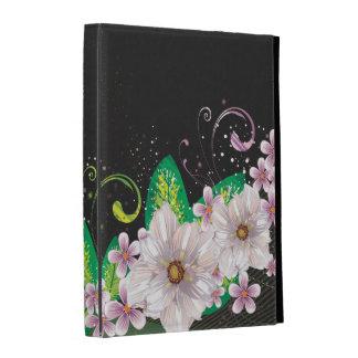Cas folio d'iPad de l'art abstrait 45 Étuis iPad Folio
