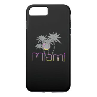 Cas frais de l'iPhone 7 de paumes de Miami, la Coque iPhone 7 Plus