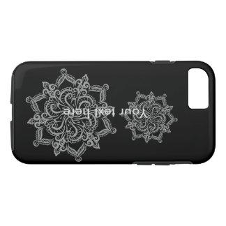 Cas frais de téléphone de l'iPhone 7 de noir de Coque iPhone 7