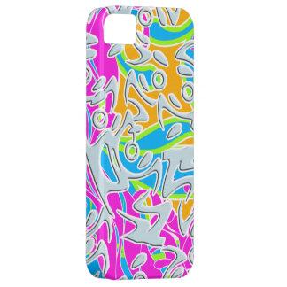 Cas génial de Coque-Compagnon d'Iphone 5 d'art abs
