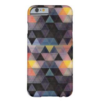 Cas géométrique moderne de l'iPhone 6 de motif