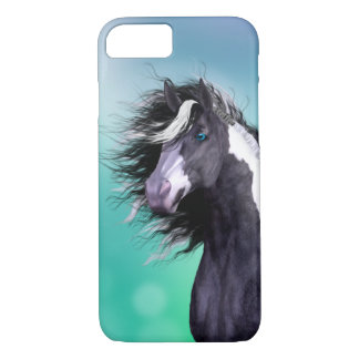 Cas gitan de l'iPhone 7 de tête de cheval de Coque iPhone 7