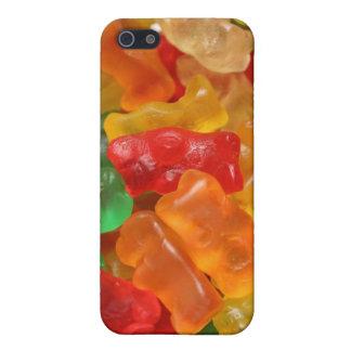 Cas gommeux d'ours coques iPhone 5