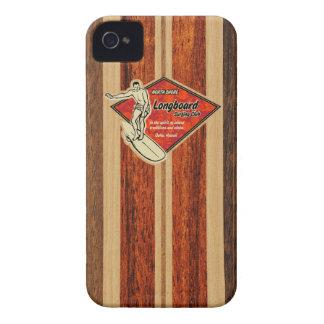 Cas hawaïen de l iPhone 4 de planche de surf de Wa Étuis iPhone 4