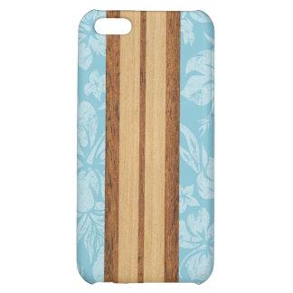 Cas hawaïen de l'iPhone 5C de planche de surf de p