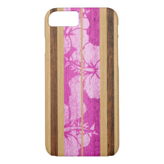 Cas hawaïen de l'iPhone 7 de planche de surf de Coque iPhone 7