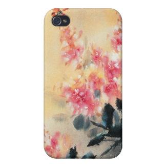 Cas iPhone4 de papillons au printemps iPhone 4 Case