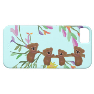 Cas IPhone 5 de koala de Haning iPhone 5 Case
