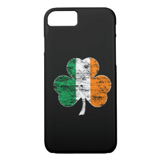 Cas irlandais de l'iPhone 7 de shamrock de drapeau Coque iPhone 7