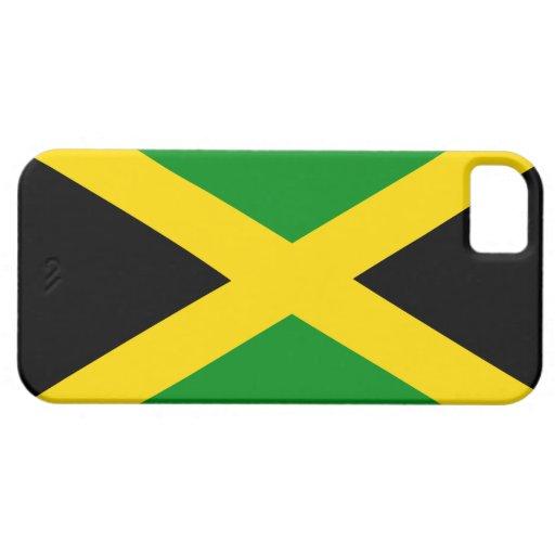 Cas jamaïcain de mode de drapeau