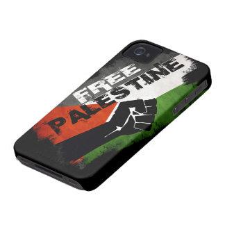 Cas libre de l'iPhone 4 G de la Palestine Coques iPhone 4 Case-Mate