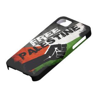 Cas libre de l'iPhone 5 G de la Palestine Coque Barely There iPhone 5