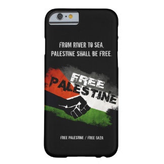 Cas libre de l'iPhone 6 de la Palestine Coque Barely There iPhone 6