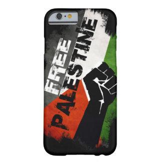 Cas libre du cas G de l'iPhone 6 de la Palestine Coque Barely There iPhone 6