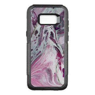 Cas liquide de téléphone d'art de remous de coque samsung galaxy s8+ par OtterBox commuter