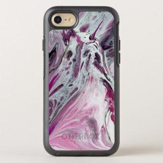 Cas liquide OtterBox de téléphone d'art de remous Coque Otterbox Symmetry Pour iPhone 7
