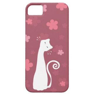 Cas lunatique de l'iPhone 5 de chat Coques iPhone 5
