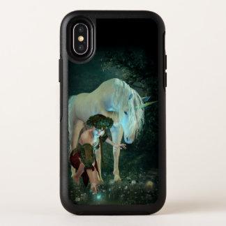 Cas magique de l'iPhone X d'OtterBox de fée et de