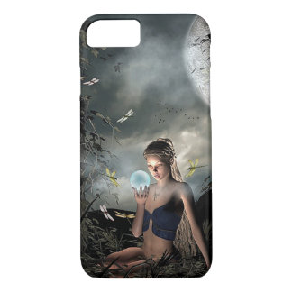 Cas magique féerique mystique de téléphone d'art coque iPhone 7