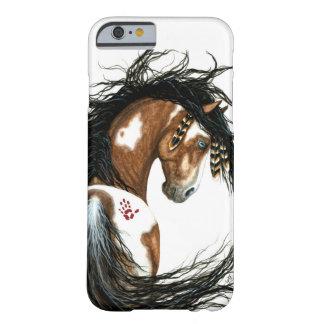 Cas majestueux de l'iPhone 6 de cheval de Pinto Coque iPhone 6 Barely There