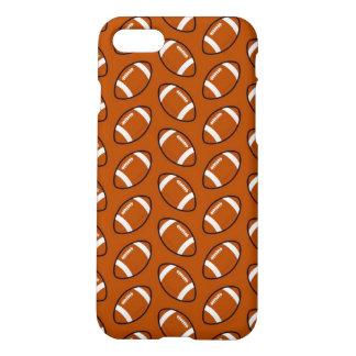 Cas mat de l'iPhone 7 de motif du football Coque iPhone 7